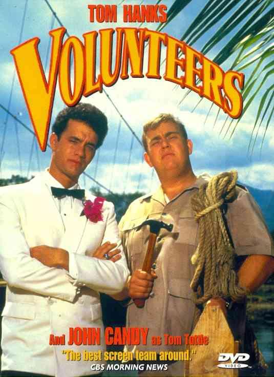 VOLUNTEERS BY HANKS,TOM (DVD)