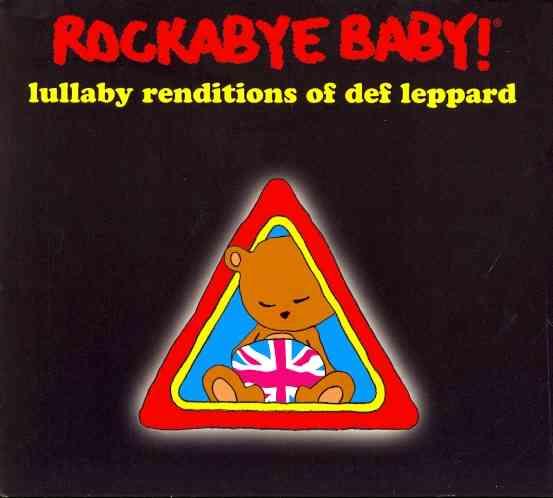 ROCKABYE BABY LULLABY DEF LEPPARD (CD)