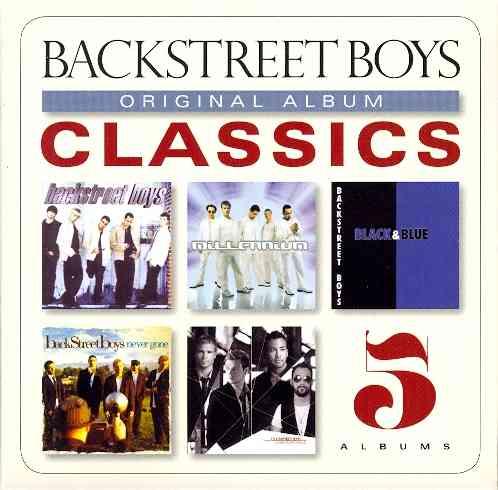 ORIGINAL ALBUM CLASSICS BY BACKSTREET BOYS (CD)